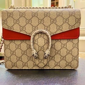 Authentic Gucci Small Dionysus Bag